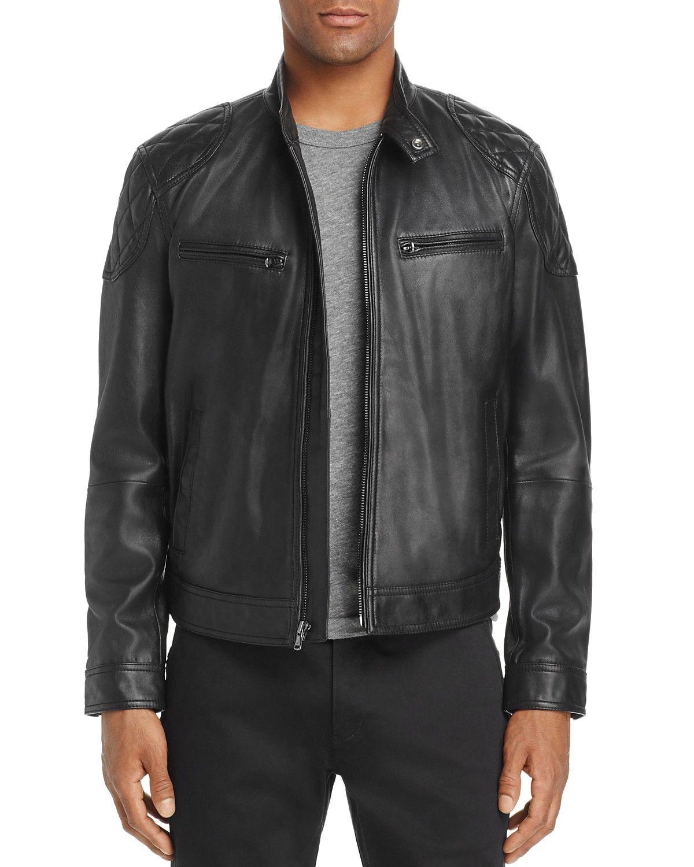 2704e30552e Michael Bastian Leather Moto Jacket - 100% Exclusive  498.00 Designer  Jackets For Men