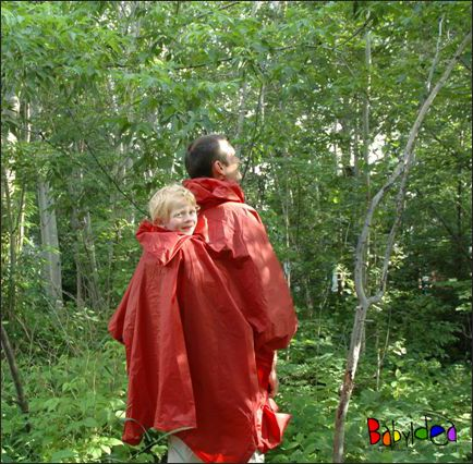 MaMidea: Babywearing - Babywearing Garments - Coats and Vests - Suse's Kinder Rainponcho