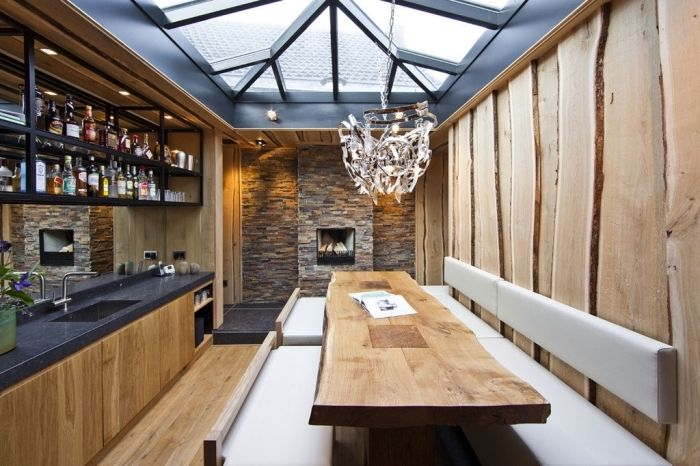 ▷ 1001 + exemples pharamineux de la cuisine en bois Roland garros - meuble de cuisine gris anthracite