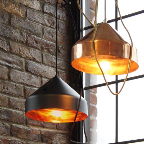Unique Elegante Kupfer Leuchten Copper Lights u Ontwerpduo f r Vij