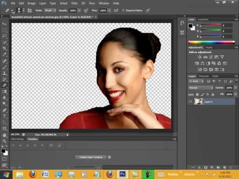 How to remove background in lightroom