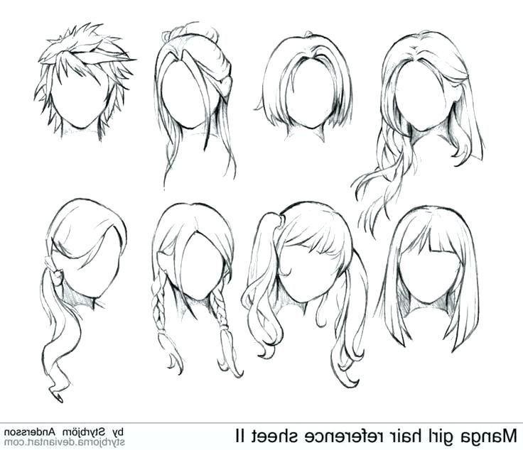49+ Frisuren frauen zeichnen die Info