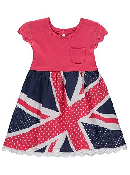 Union Jack Dress, read reviews and buy online at George at ASDA ...