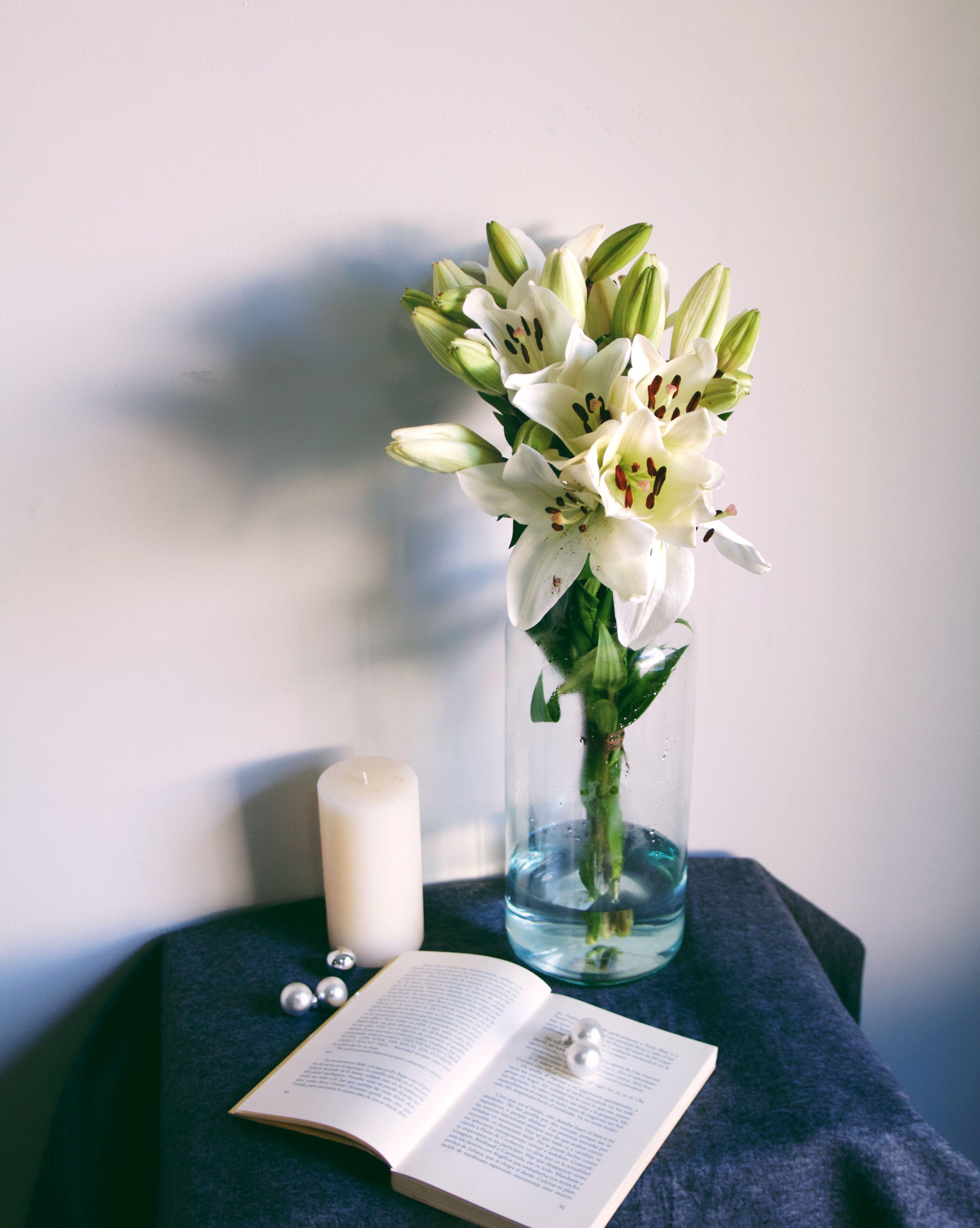 Litouwen #Flowers #Bouquet #Ramo #Flores #Lilium #White #Deco #