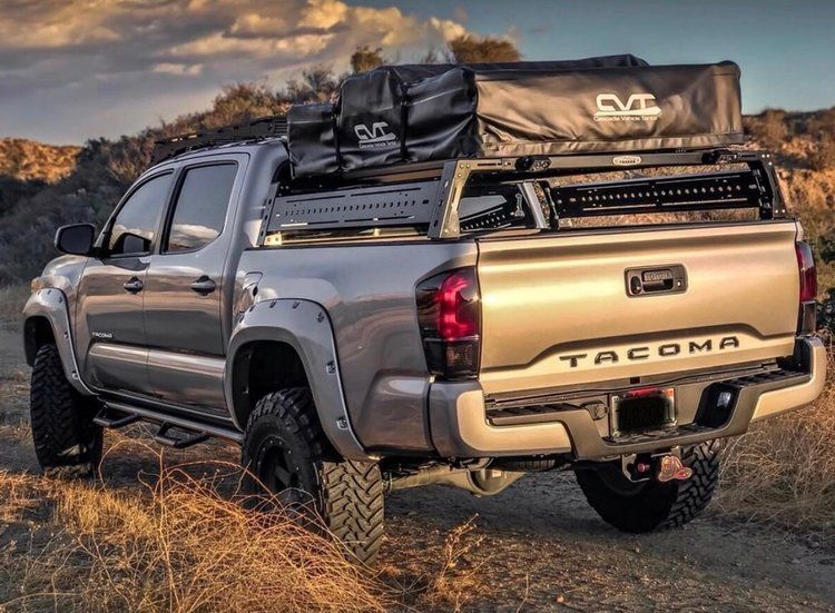 Premium Bed Rack Fits All Trucks Tacoma Truck Tacoma Bed Rack Truck Tonneau Covers