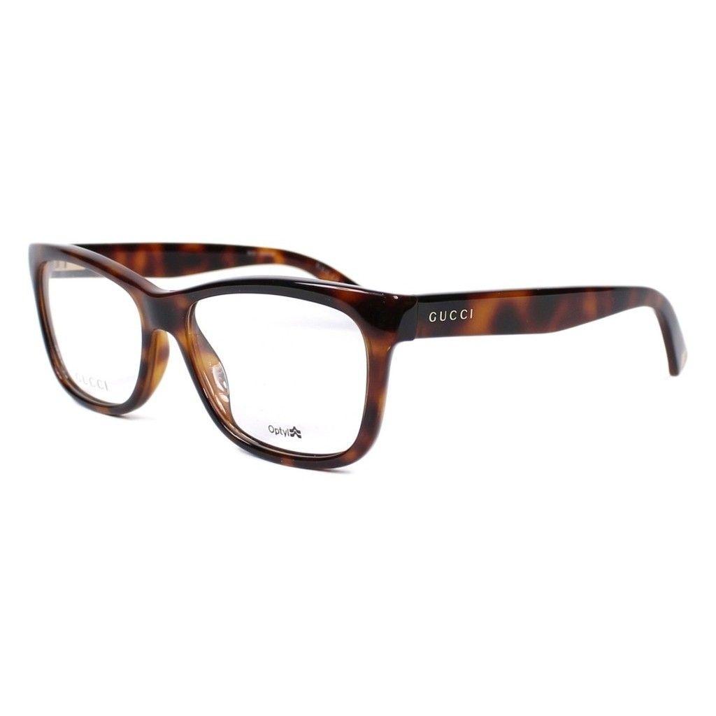 Gucci 3853 0MQL Womens Rectangular Eyeglasses | Accessories ...