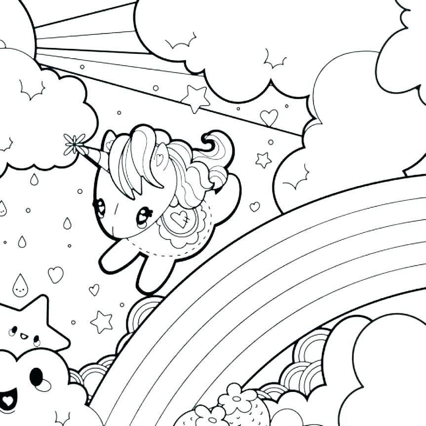 40 Looking For The Nice Rainbow Coloring Page Find Here What