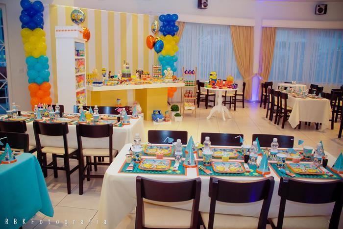 Despicable Me Party Ideas Part - 36: Despicable Me 2 Party Planning Ideas Supplies Idea Cake Decorations