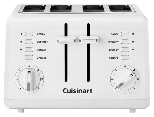 Cuisinart 4 Slice Wide Slot Toaster White Products