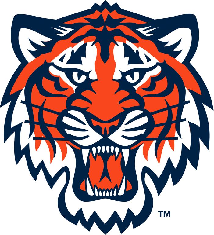 detroit tigers partial logo american league al chris