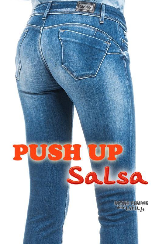jean push up bleu salsa jean femme pinterest jeans femme liste de mes envies et la liste. Black Bedroom Furniture Sets. Home Design Ideas