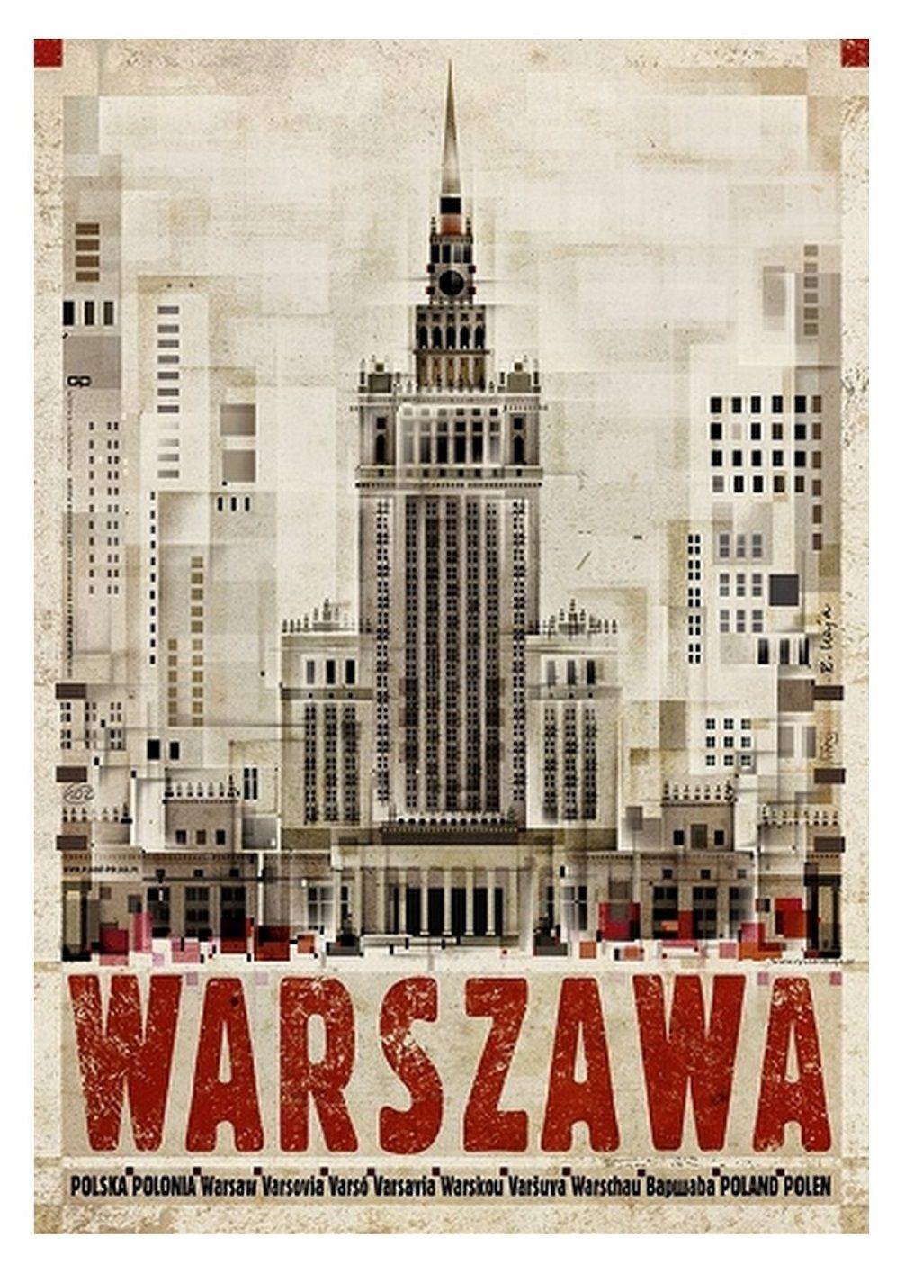 Cartel De La Serie Plakat Polska De Ryszard Kaja Vintage Travel Posters Travel Posters Poster City
