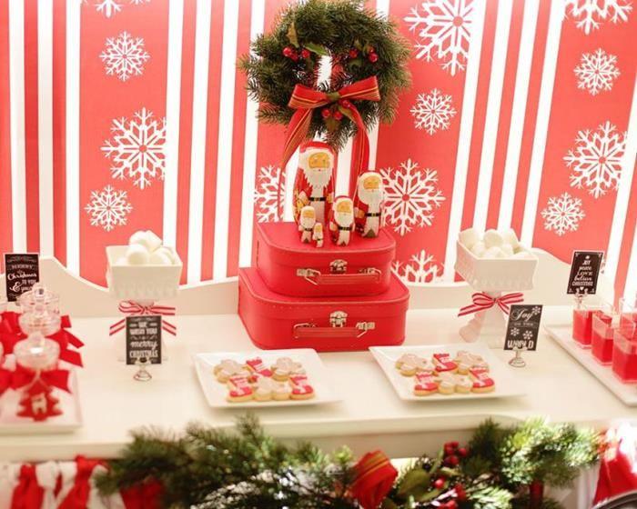 Ordinary Simple Christmas Party Ideas Part - 13: Resultado De Imagen Para Xmas Party Decoration