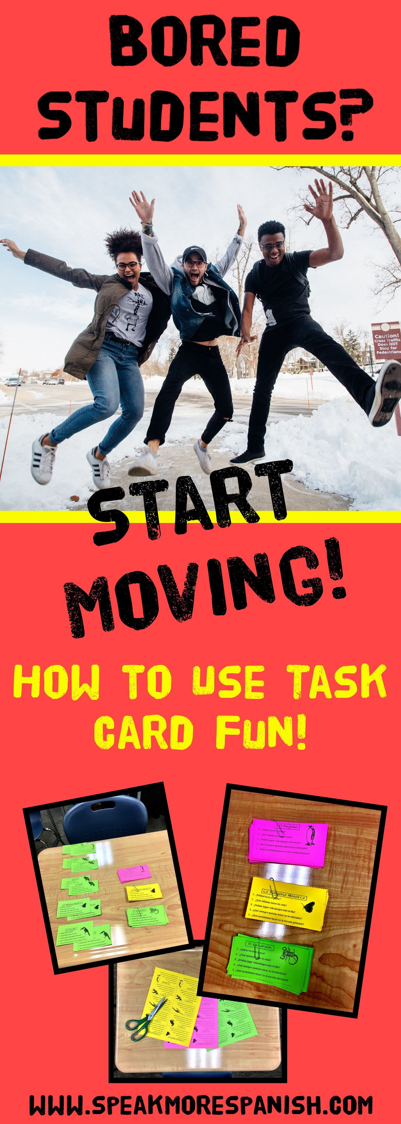 Teaching With Task And Pairing Cards