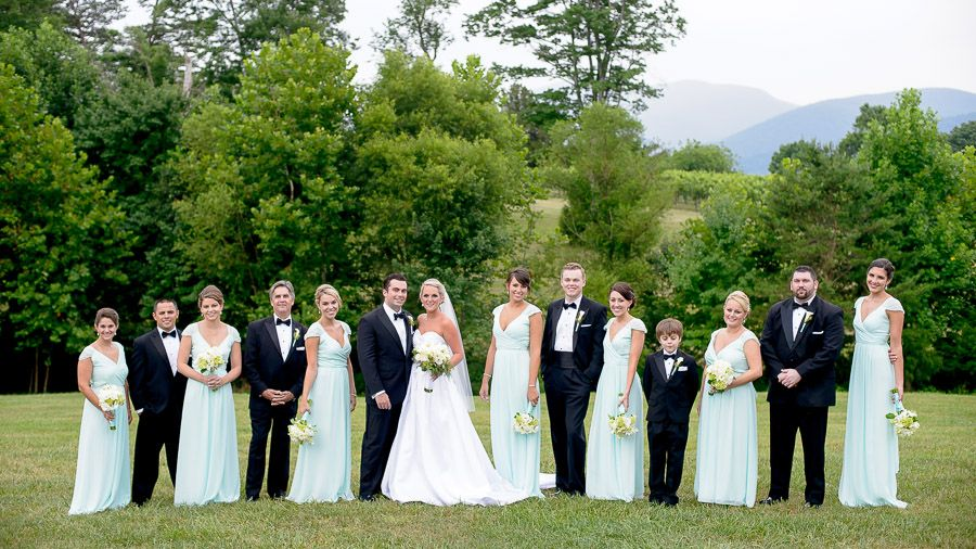 Seafoam Green Wedding Party
