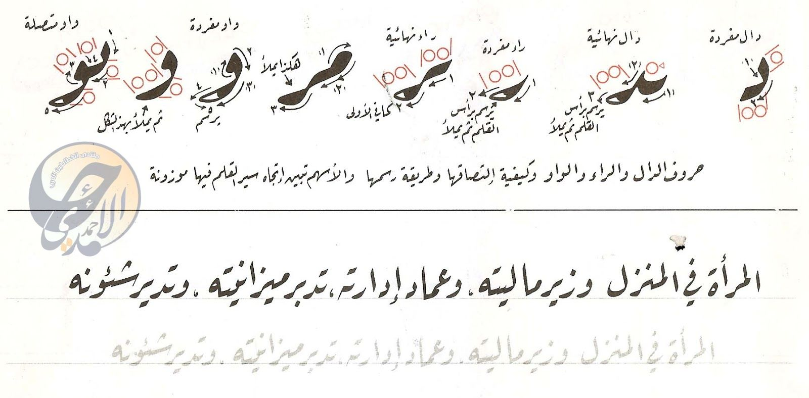 كراسة خط الرقعة للخطاط ناصر عبد الوهاب النصاري Islamic Art Calligraphy Islamic Art Arabic Calligraphy