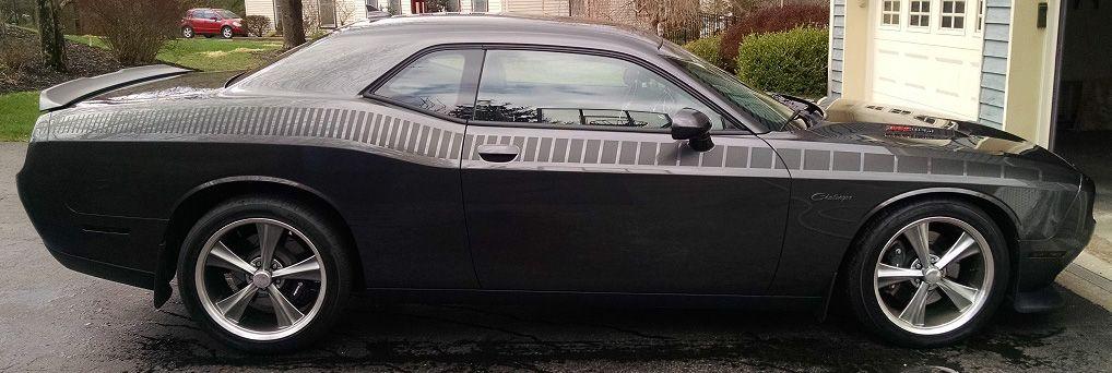2015 2016 2017 2018 2019 2020 2021 Dodge Challenger Full Length Aar Stripes Vinyl Graphics Stripes Decals Kit Fits Sxt Sxt Plus Gt Awd R T R T Plus Dodge Challenger Dodge Vinyl Graphics