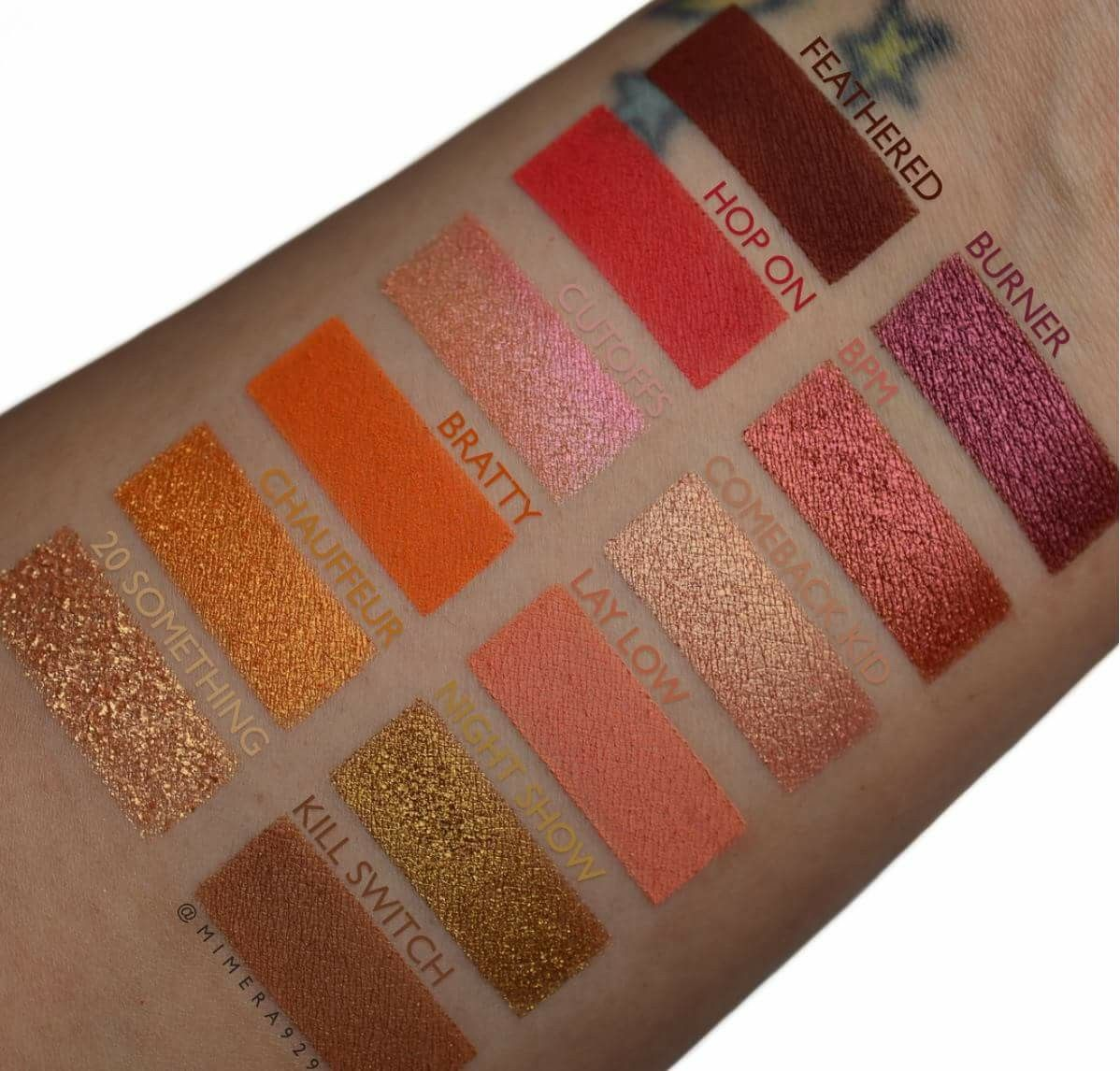 Give It To Me Straight Eye Shadow Palette  by Colourpop #19