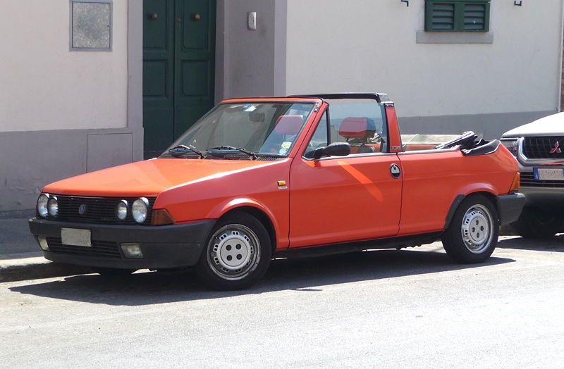 Fiat Strata 2 Door 2nd Series Cabriolet 1982 Fiat Cabriolets Fiat Cars