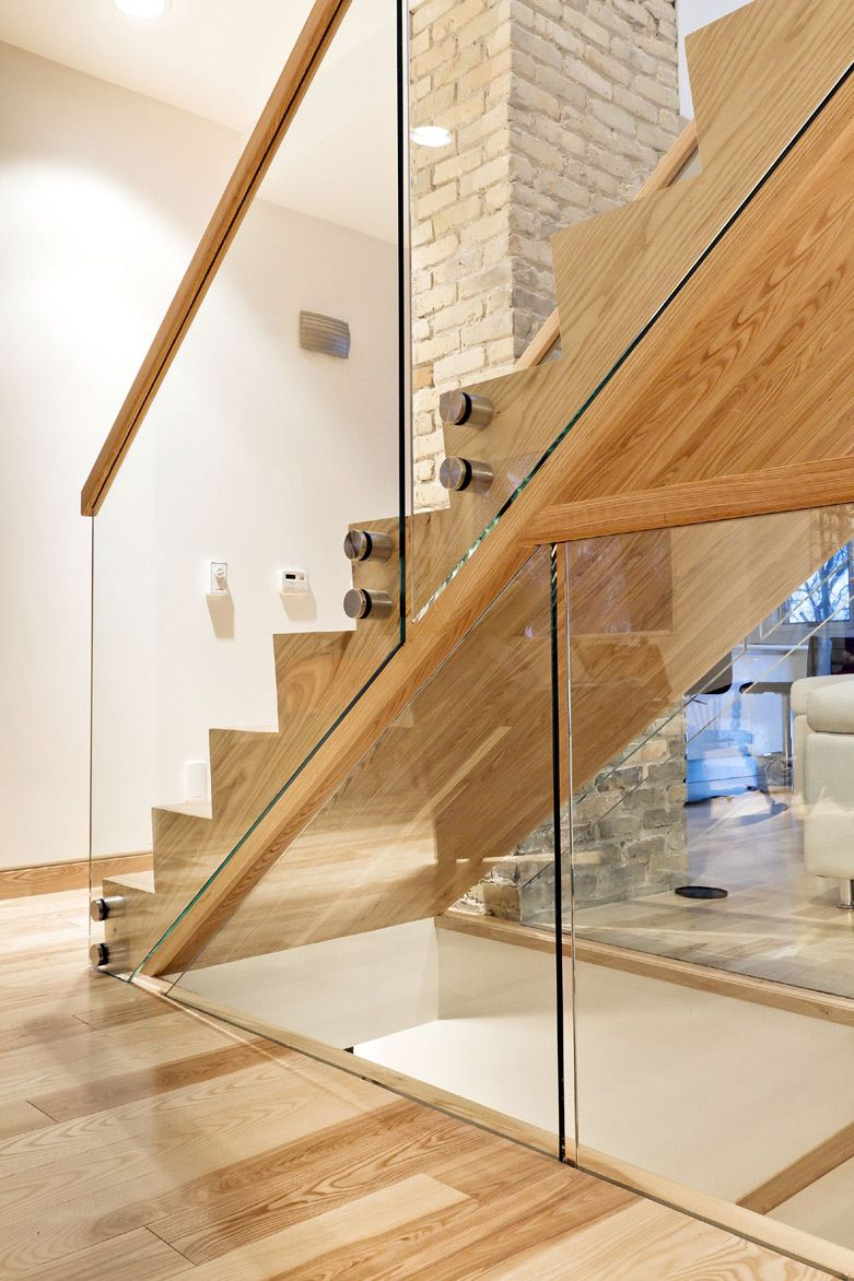 Best Ash Staircase Handrail Wood Staircase Modern Stairs 400 x 300