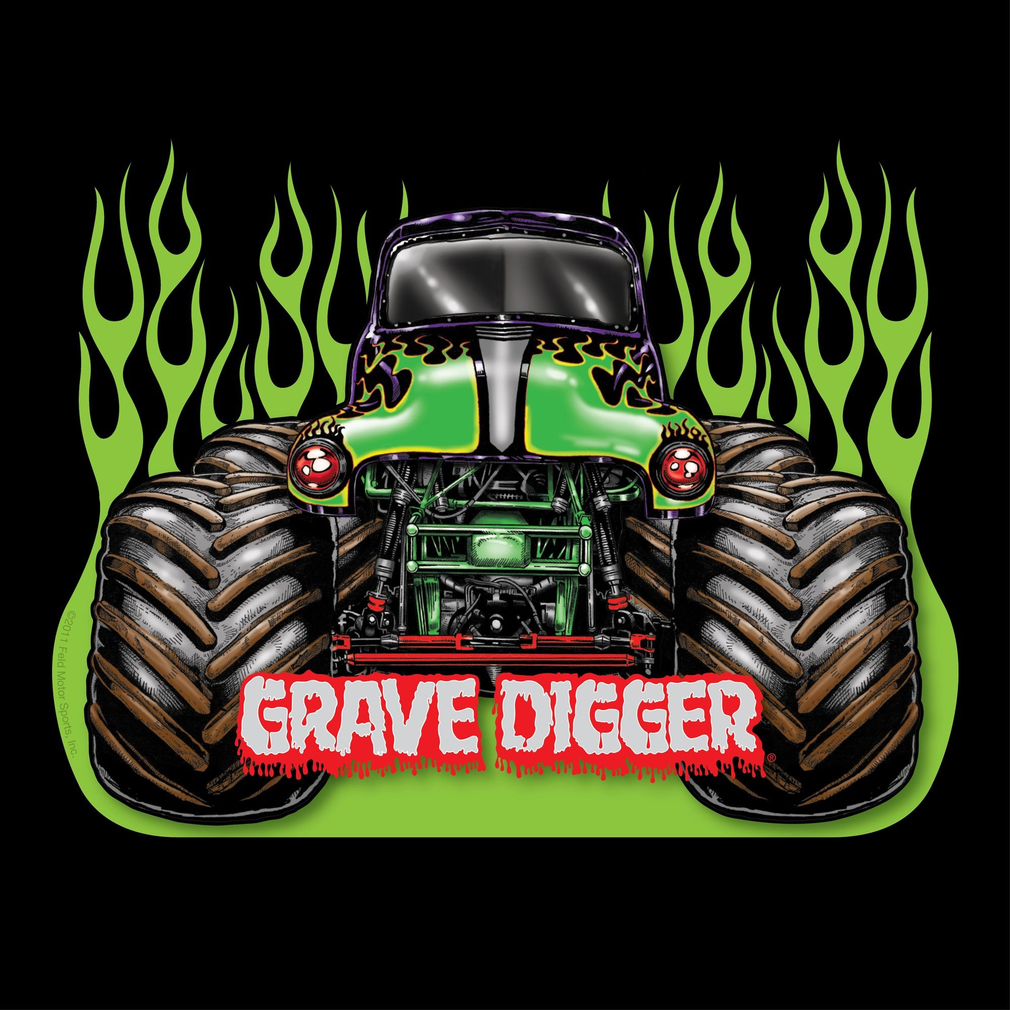 Monster Jam Grave Digger Black Adult T Shirt 23 99 Monster