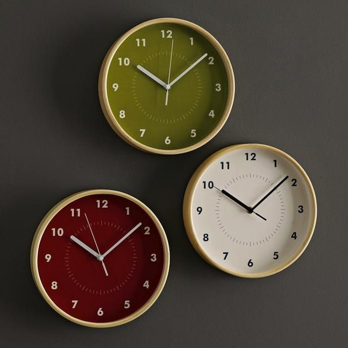 10 Easy Pieces Simple Kitchen Clocks Remodelista Wall Clock Contemporary Wall Clock Clock