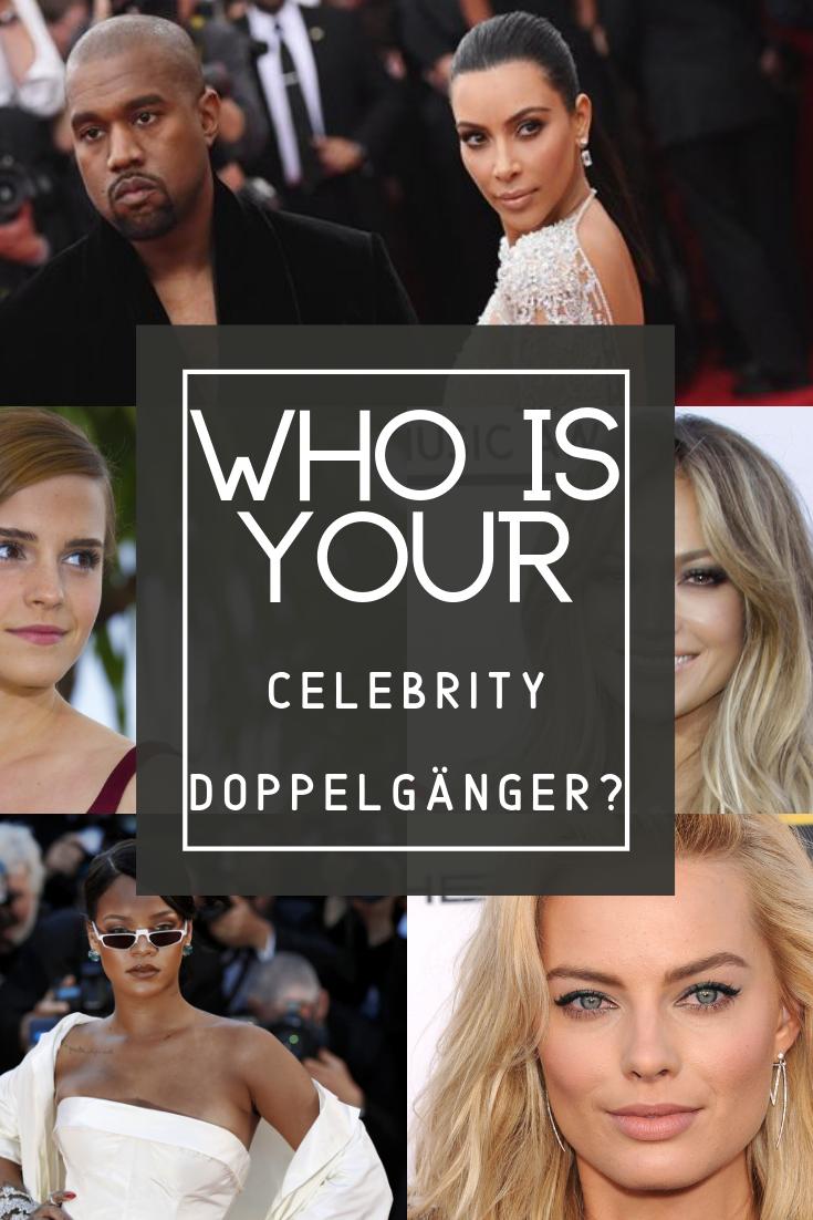 Celebrity Look Alike Quiz Male : celebrity, alike, Which, Celebrity, Alike,, Doppelganger,, Celebrities