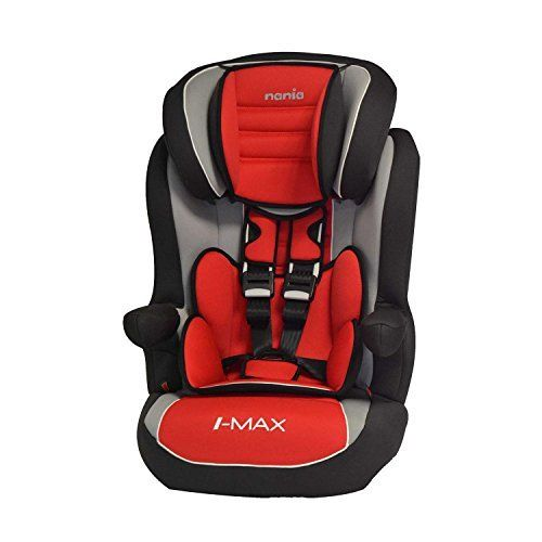 e218f438c157 Carseat Highback Booster with harness - Group 1  2 3 (9-36kg) - Made in  France - 3 Stars Test ADAC - 4 colors (red)