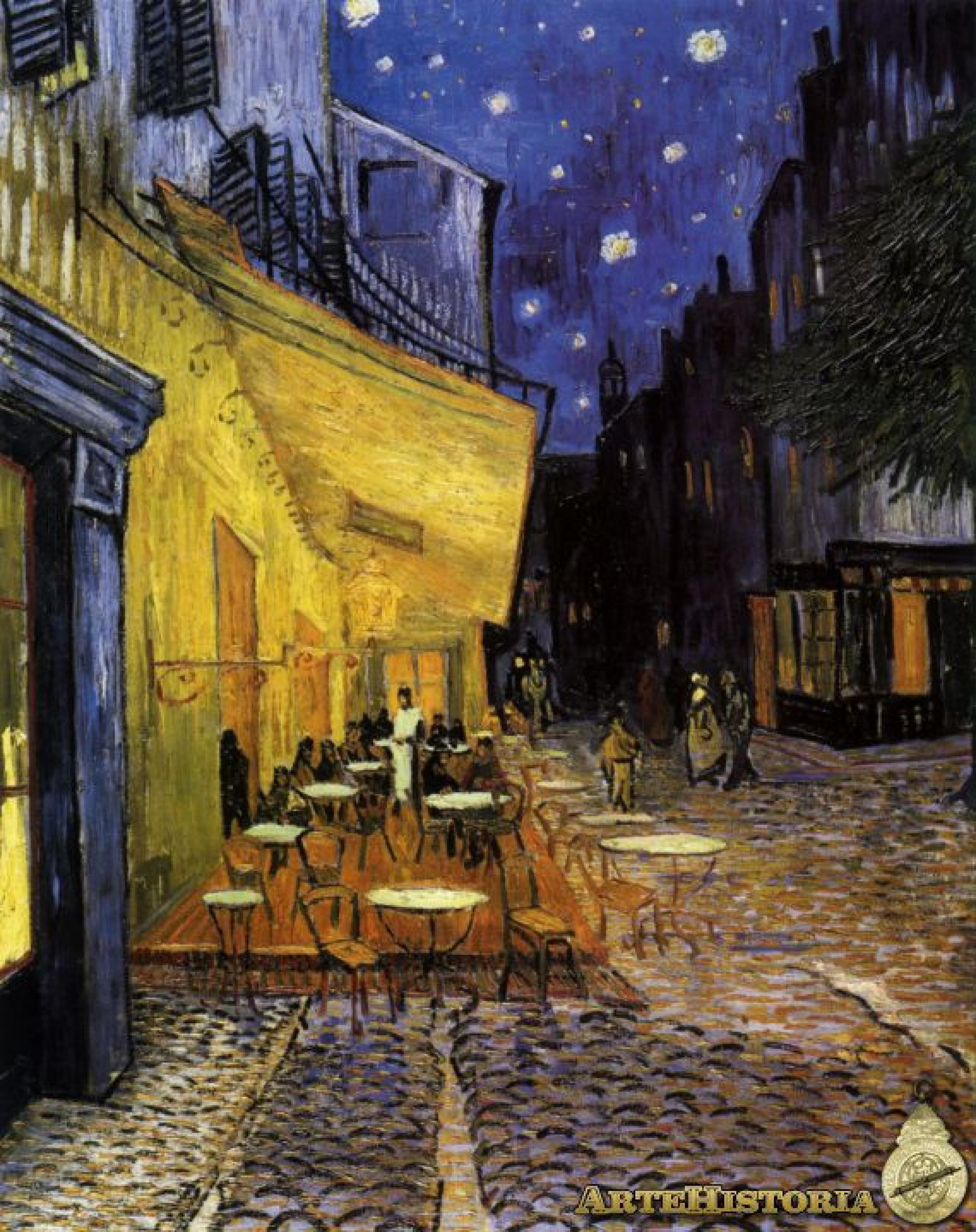 Vincent Van Gogh 1853 1890 Terraza De Café Por La Noche