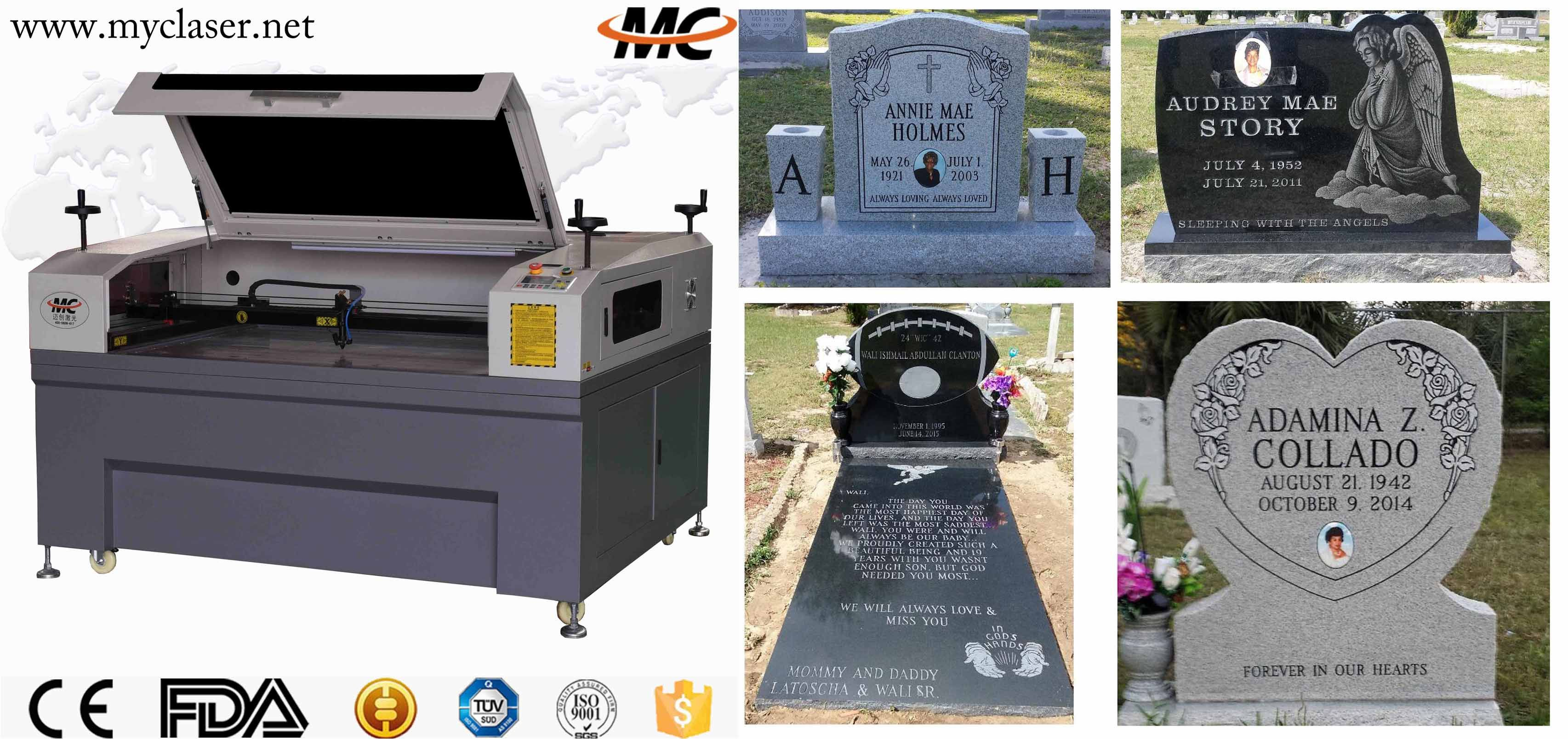Mc1310stone Laser Engraving Machine Specialize In Monuments Mausoleums Granite Markers And Other Stone F Laser Machine Laser Engraving Laser Engraving Machine