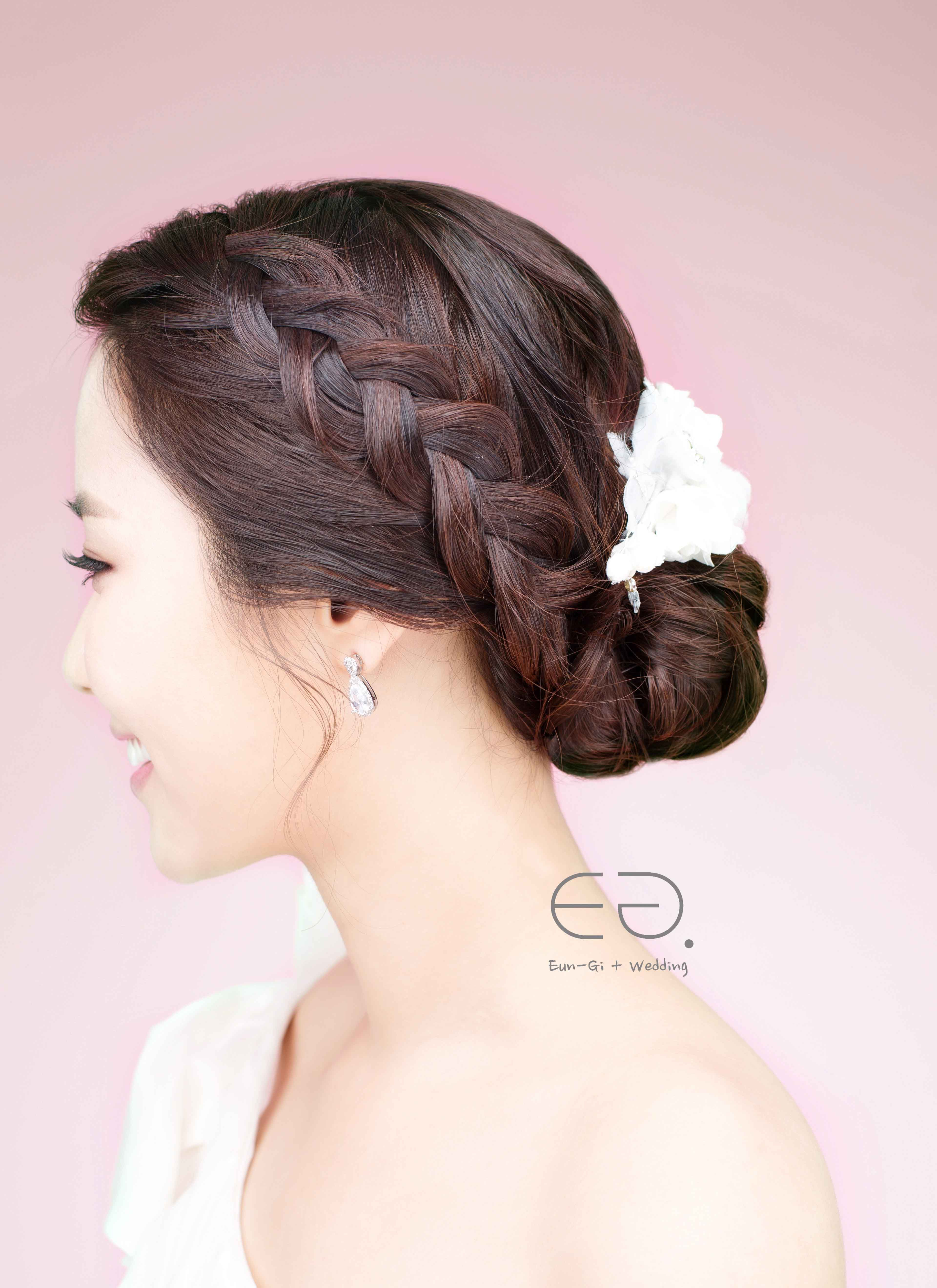 ♡korean wedding make-up & hairstyle| eun-gi korea wedding
