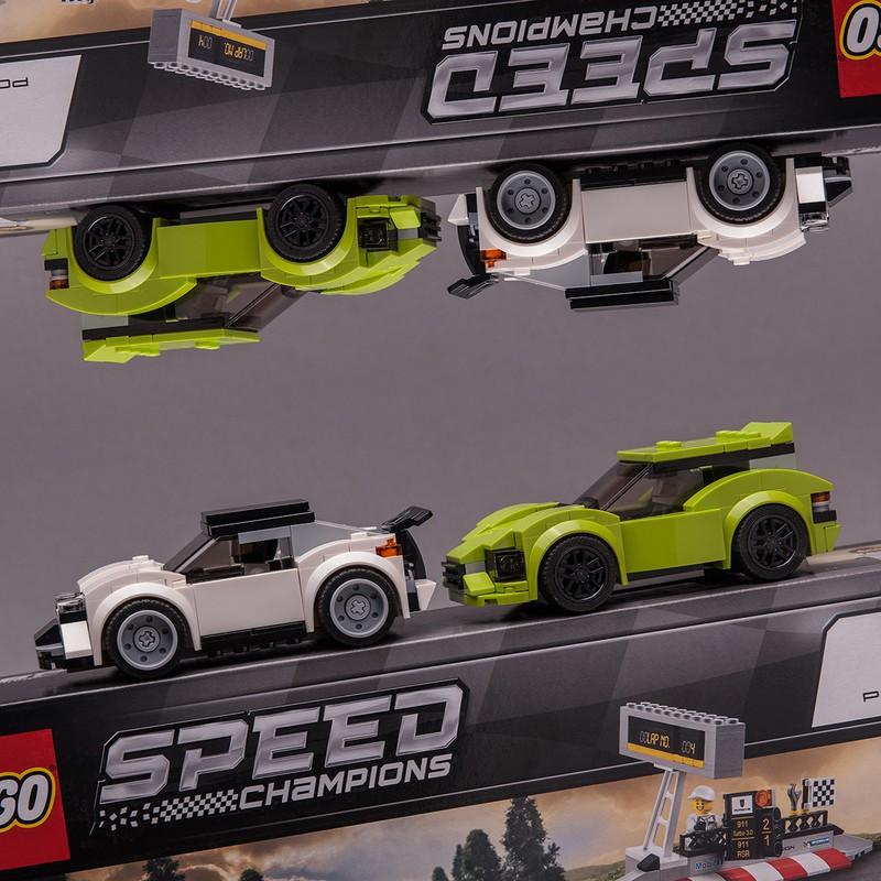 75888 Street Racers Lego Cars Racer Porsche 911 Rsr