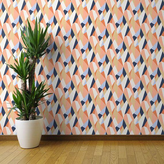 Modern Geometric Wallpaper- Moderne Geometric Wallpaper By