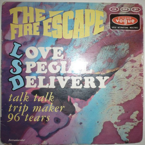The fire escape love special delivery vinyl at discogs zz the fire escape love special delivery vinyl at discogs solutioingenieria Image collections