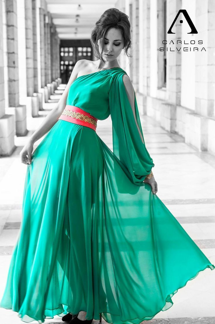 Vestido largo elegante fietshelm | moda | Pinterest | Christmas ...