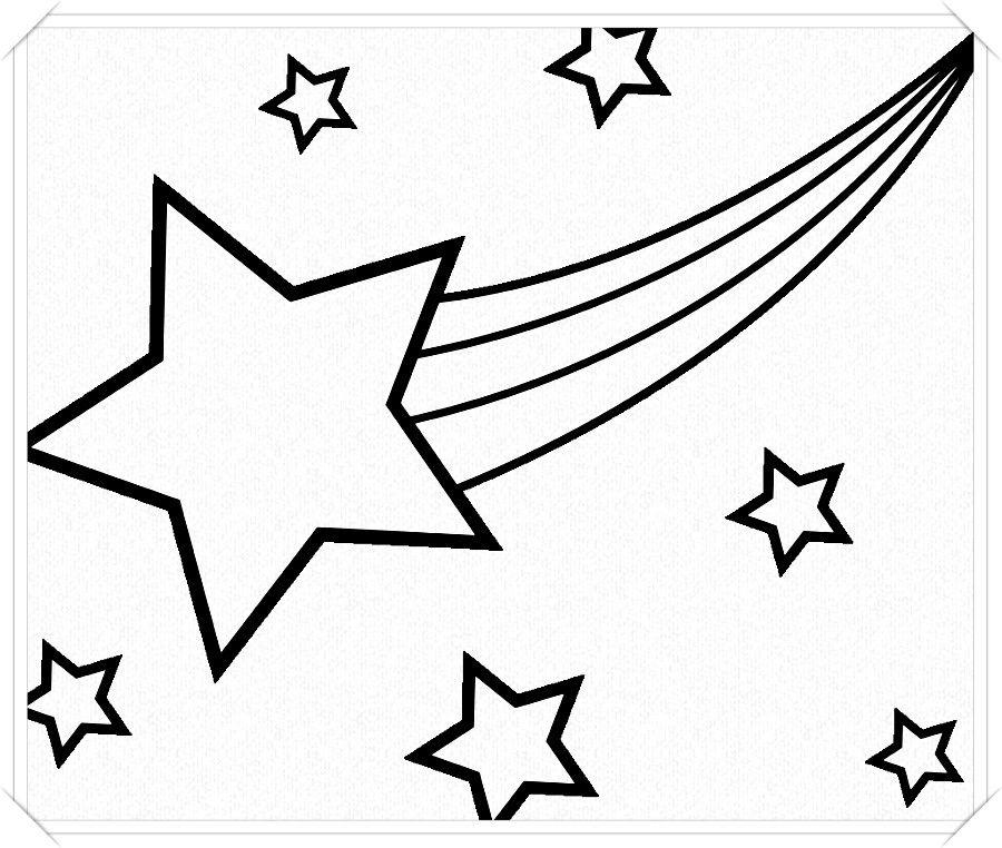 Los Mas Lindos Dibujos De Estrellas Para Colorear Y Pintar A Todo Color Imagenes Prontas Pa Estrellas Para Imprimir Dibujos De Estrellas Paginas Para Colorear