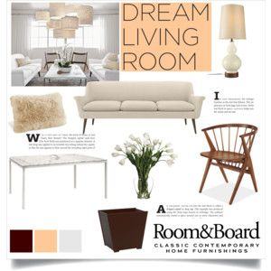 Room & Board Dream Living Room Contest Entry