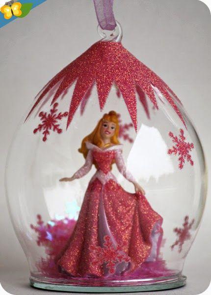 Nos boules de no l princesses disney l 39 objet de la - Boule de noel disney ...