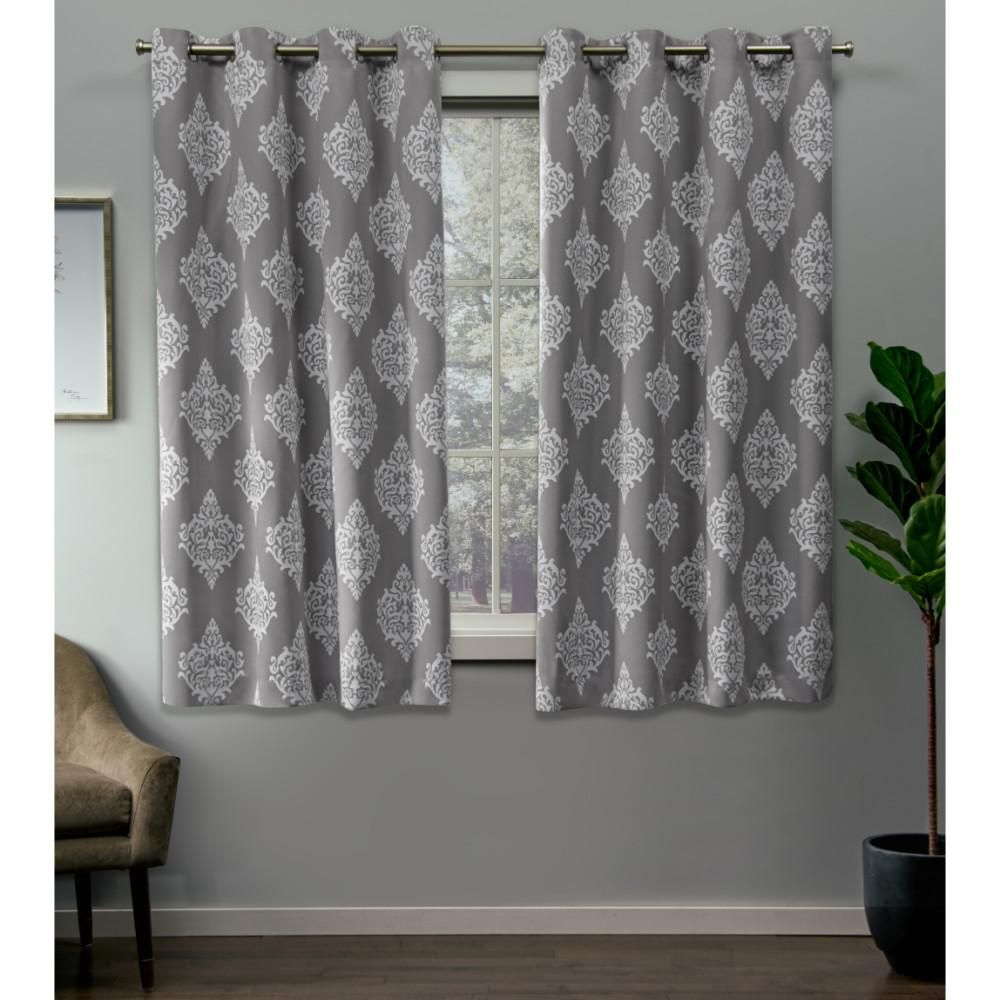 Exclusive Home Curtains Medallion 52 In W X 63 In L Woven