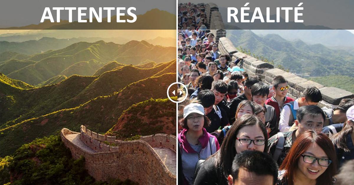 EXPECTAIONS vs REALITY. Voyager est devenu si décevant à cause d'Instagram - où sont ces plages paradisiaques que vous avez vu sur le web?