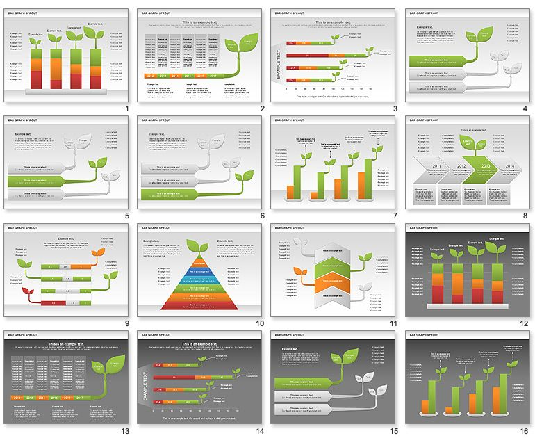 Bar graph sprout chart for powerpoint pie chartsbar graphs bar graph sprout chart for powerpoint ccuart Gallery