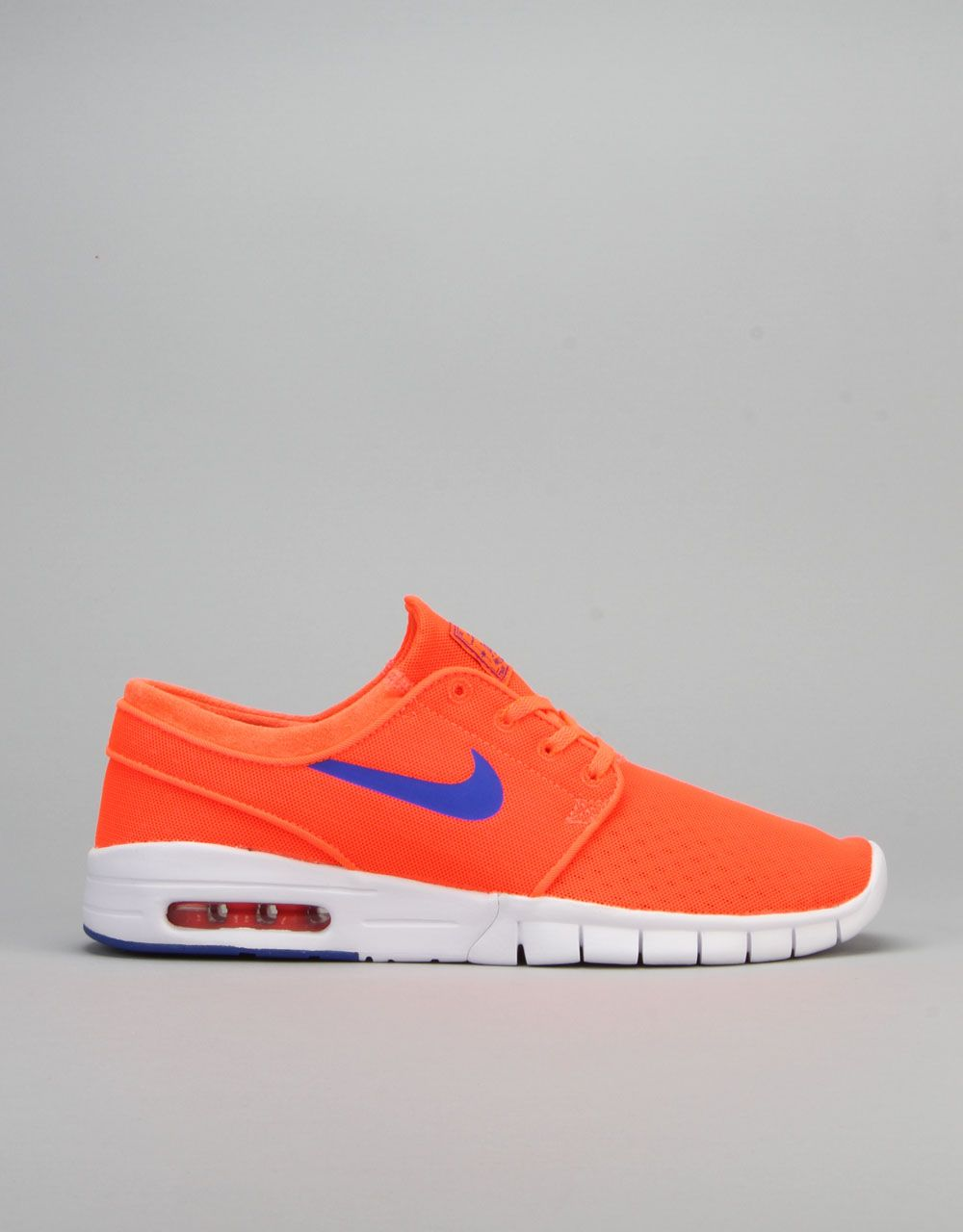 newest 23a04 7c6a7 Nike SB Stefan Janoski Max Shoes - Total Crimson Racer Blue-White
