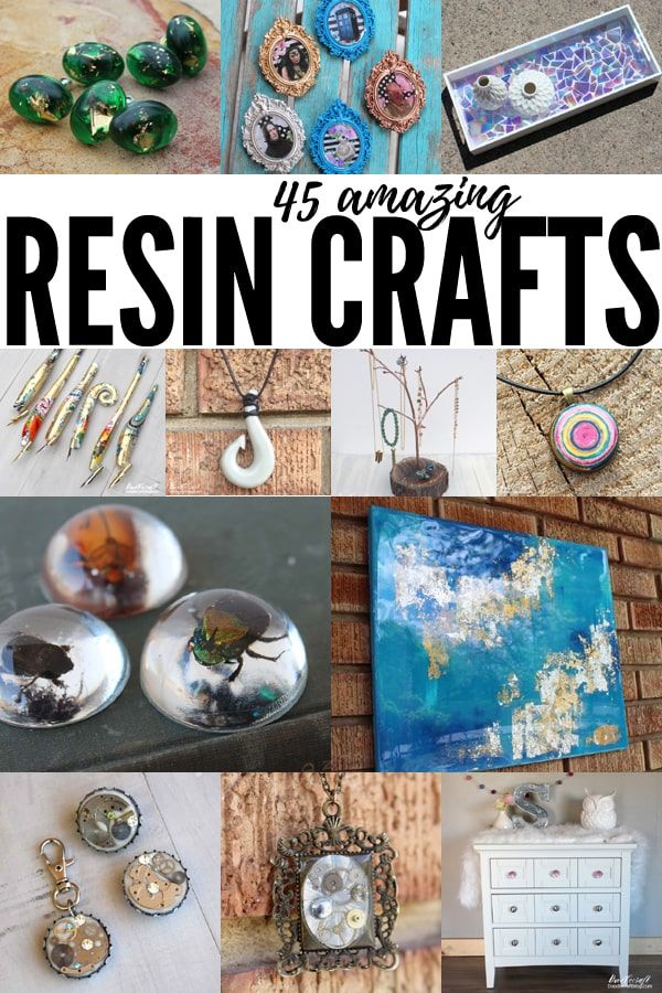 Resin Craft Ideas 45 Cool Things to Make with Resin! is part of Diy resin crafts, Resin crafts, Diy resin gifts, Resin crafts tutorial, Epoxy resin crafts, Crafts - Resin Craft Ideas 45 Cool Things to Make with Resin! Have you played with resin yet  It's so much fun! There are a bunch of different kinds o…
