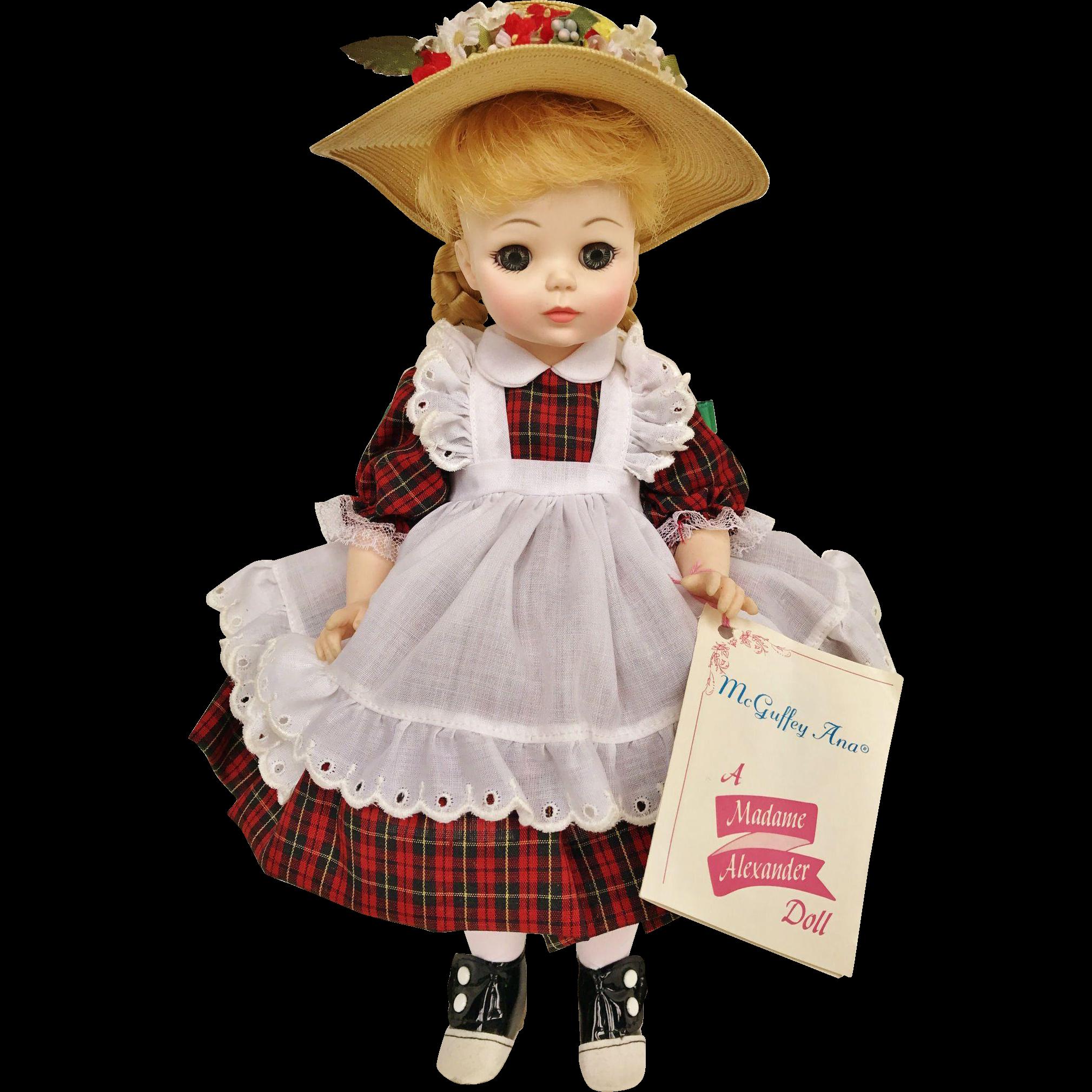 1960 S Madame Alexander Mcguffey Ana 1525 13 Baby Doll In Box With Tag Vinyl Anna Baby Dolls Tag Vinyl Madame Alexander Dolls