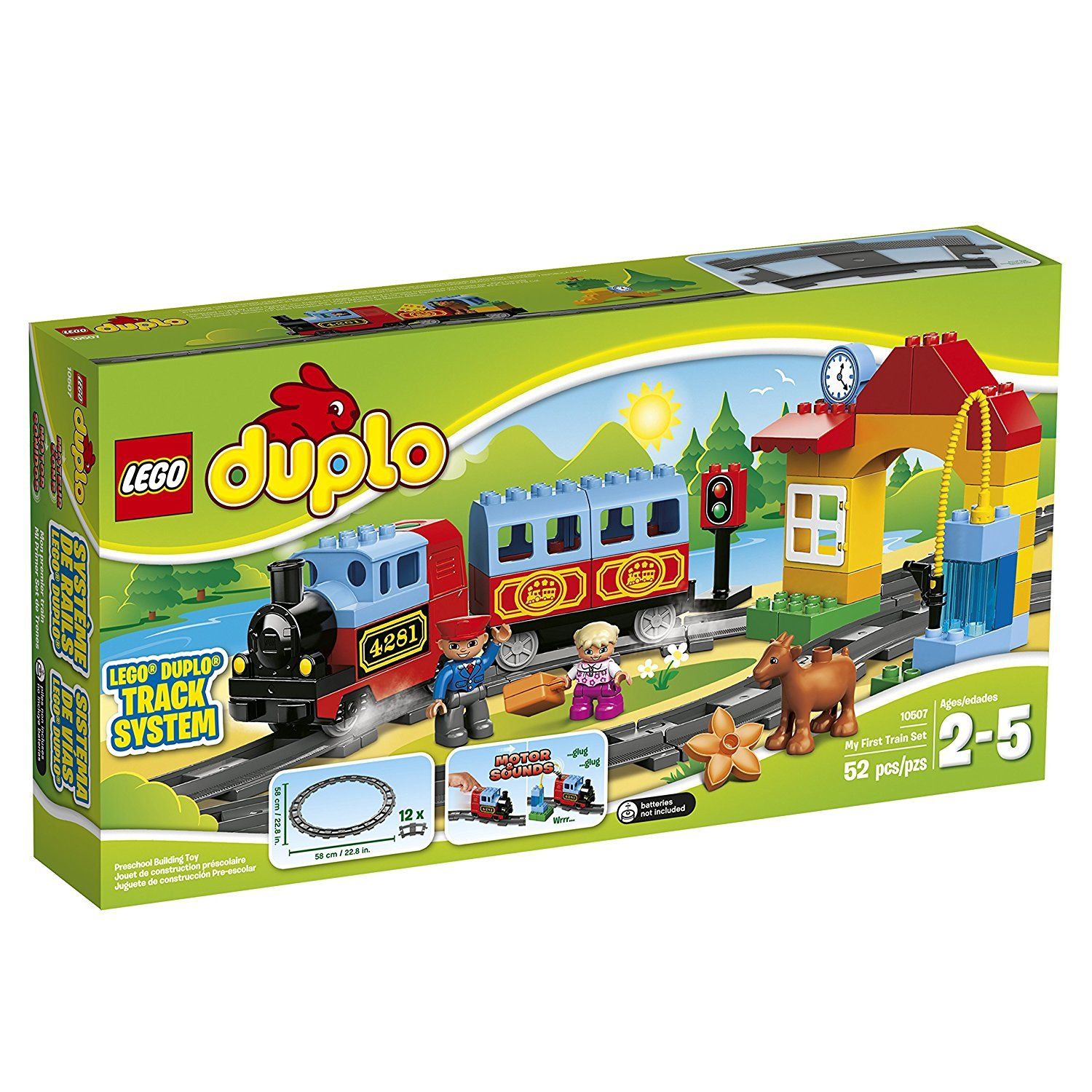 Amazon LEGO DUPLO My First Train Set Preschool Pre