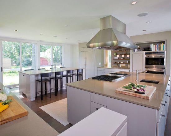 Breathtaking home interior design with modern furniture for Hall kitchen design