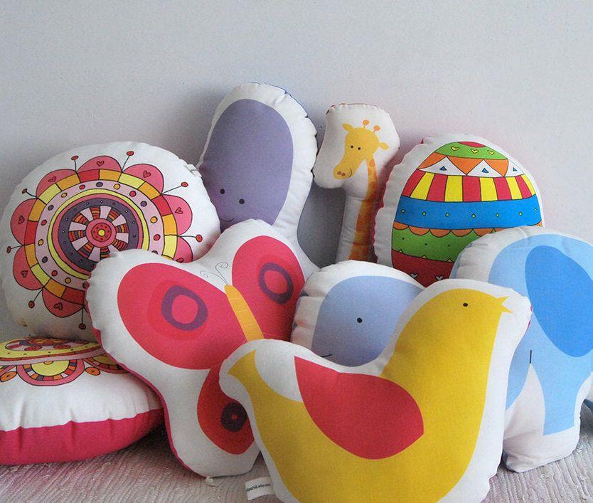 Whale baby pillow, baby room stuffed animal, nursery decor plush toy