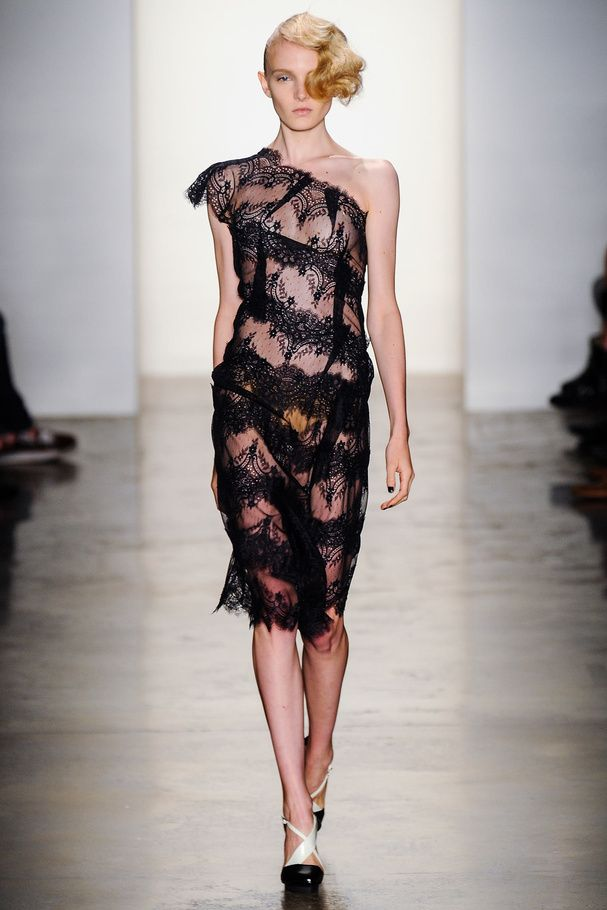 La robe trompe-l'œil Alexandre Herchcovitch