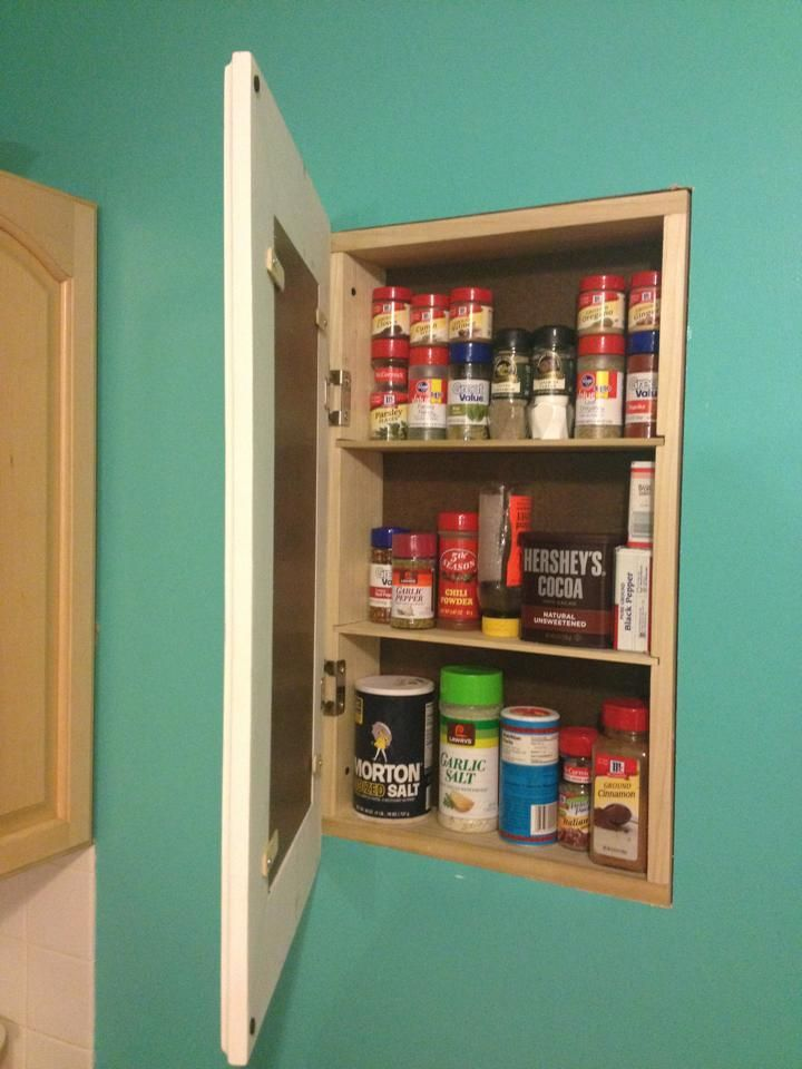 Superb Build A Recessed Storage Cabinet