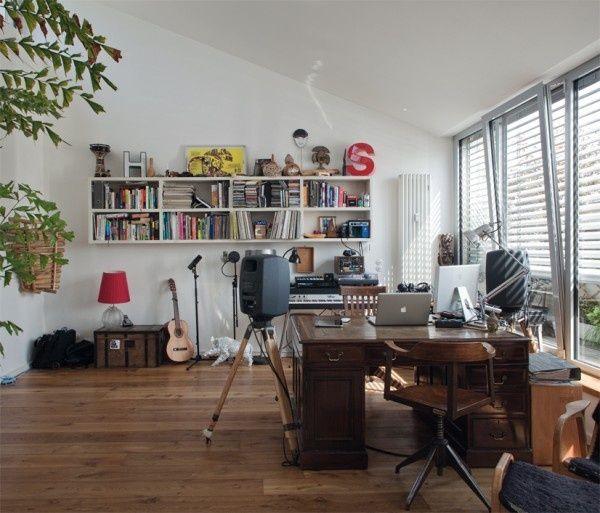 Studio Slash Office Slash Record Collection Music Room Decorating Musicroom Music Studio Room Studio Room Home Studio Setup